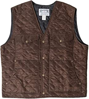product image for BRIDGER QUILTED VEST 835-CO-06 COLOR - CHOCOLATE SIZE - XL
