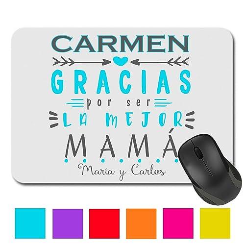 Alfombrilla Ratón/Madre/Mama/Texto Personalizado/Regalo ...