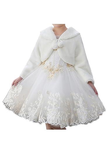ac59368596a69 (ウィーン ブライド)Vienna Bride ストール 子供ケープ 肩掛け 女の子 ガールズ ウエディング 子供 パーティー 結婚