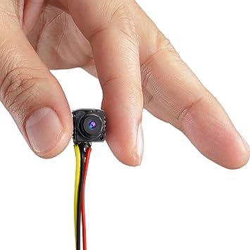 GEREE 800TVL NTSC/PAL Mini CCTV Monitor Vídeo Audio Agujero Cámara oculta espía Micro cámara para vigilancia de seguridad: Amazon.es: Electrónica