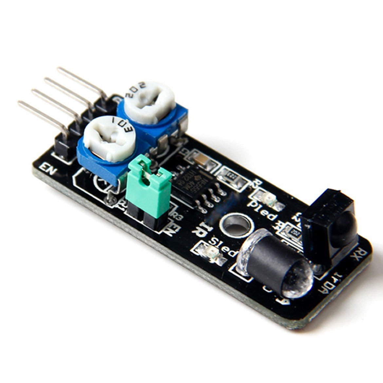 Quickbuying 5pcs Obstacle Avoidance Sensor Infrared IR Sensor Smart Car for Arduino