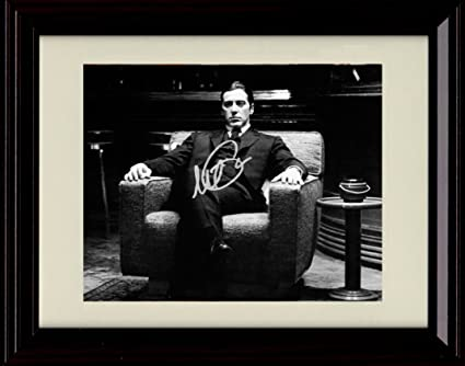 bb33fe1c045dd Amazon.com  Framed Godfather 2 Autograph Replica Print - Michael ...