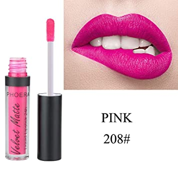 1578afcdd9a8 Amazon.com : Lip Gloss Maserfaliw Long-lasting Lip Gloss Velvet ...