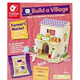 Classic Build A Village Farmer'S Market Building Kit