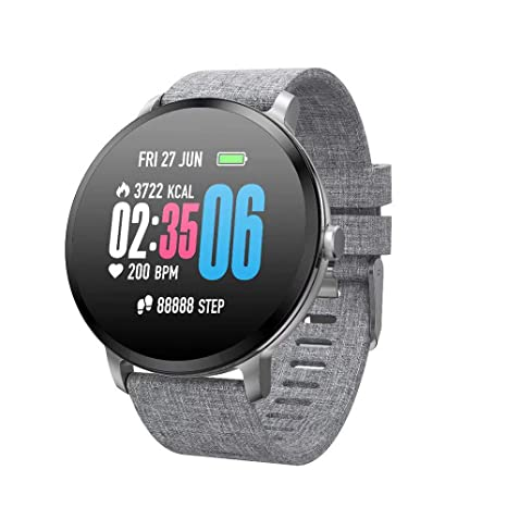 Amazon.com: TEHWDE Fitness Tracker Watch Waterproof IP67 ...