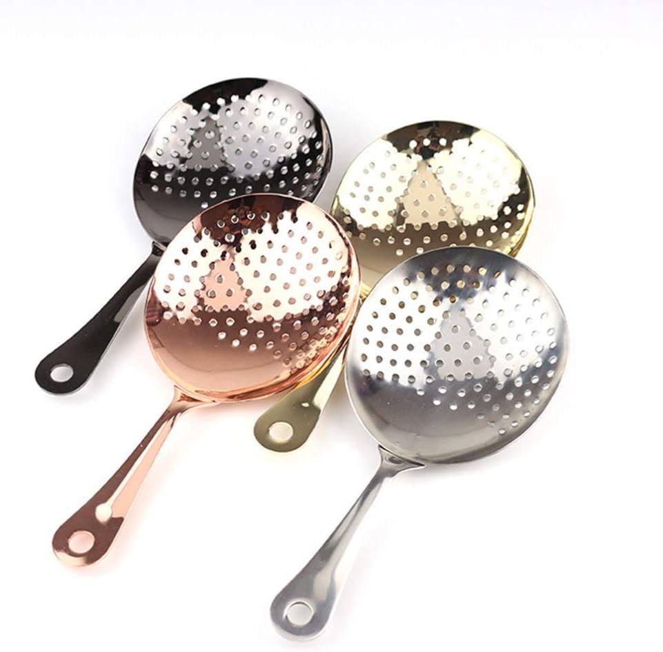 DJYJD Accueil Cuisine Passoire Louche en Acier Inoxydable Filtre cuill/ère Scoop p/âtes Nouilles Cuisine Skimmer Taille 14