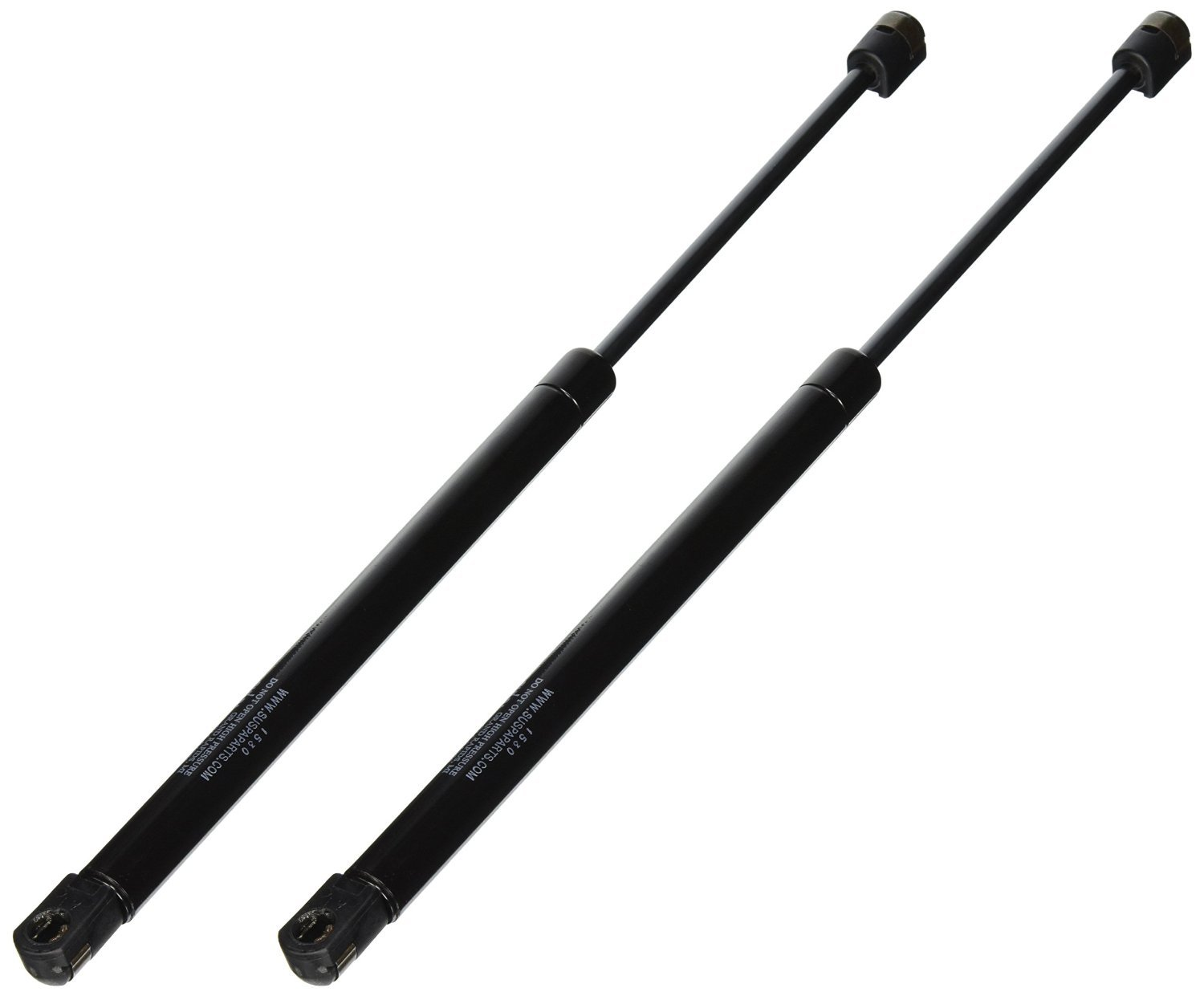 """Suspa C16-15952 35.43"""" Gas Prop/Strut - Set of Two - Force is 40 lbs Per Prop/Strut - Force is 80 lbs Per Pair"""