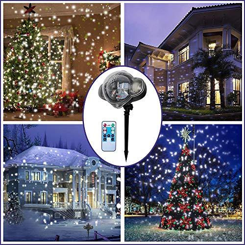 Outdoor Snowflake Laser Lights in US - 8