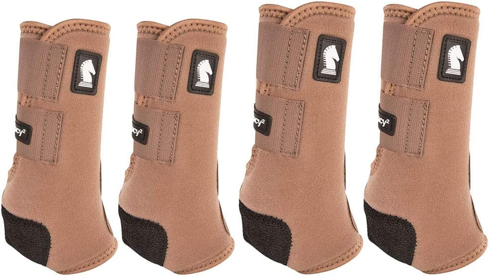 Classic Equine Legacy2 Horse Front Hind Sports Boots 4 Pack Mint