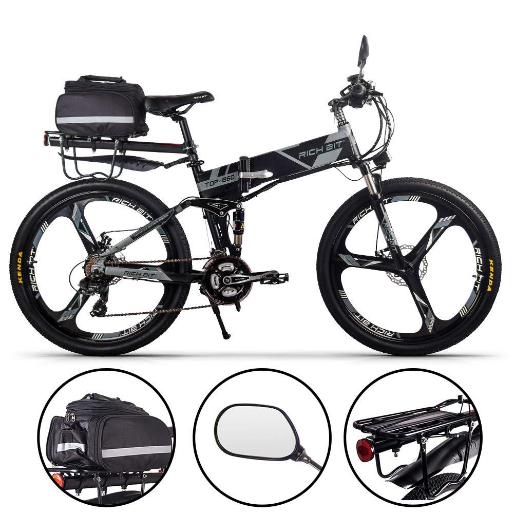RICH BIT RT860 250W 36V 12.8Ah LG Li-Batterie Vélo électrique Montagne Vélo VTT E-Bike 21 Vitesses Shimano 26 Pouce Vélo Pliable product image