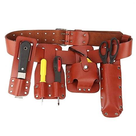 Amazon.com: Bolsa de herramientas de cuero, bolsa de ...