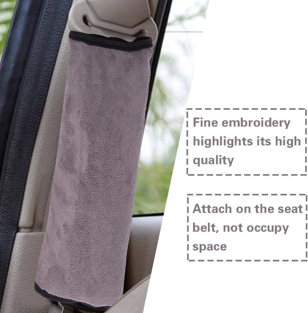 Car Baby Children Belt Pillow Shoulder Pad Protector Seat Belt Pillow Gray//Pink//Blue Gray