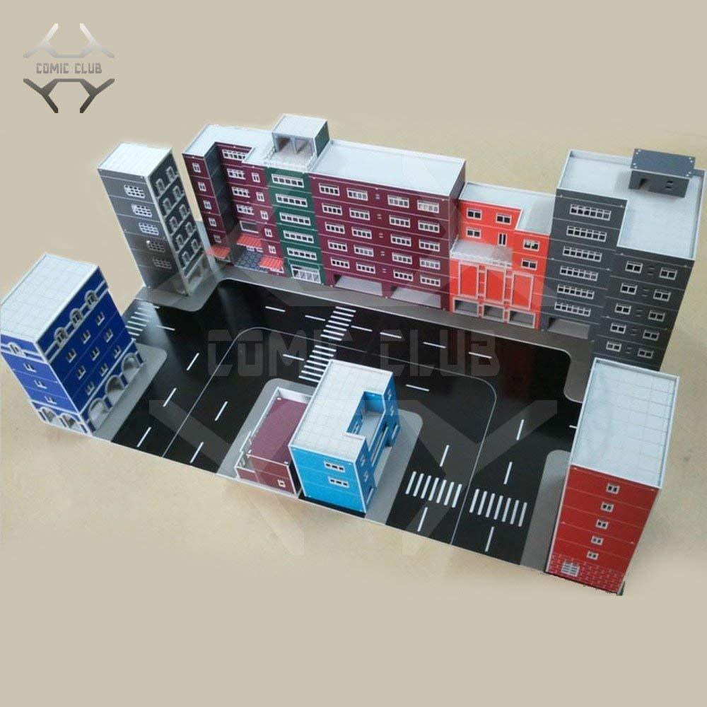 COMIC/CLUB/IN-VOORRAAD/GUNDAM/MODEL/ウルトラman/Straat/Gebouwen/scne/set/hg1/144/mg1/100/DIY/ 303 B07SKRPK2D