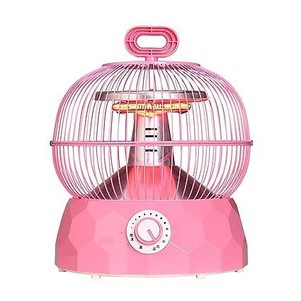 QFFL Calentador de luz de escritorio de la jaula de pájaros Calentador de ahorro de energía