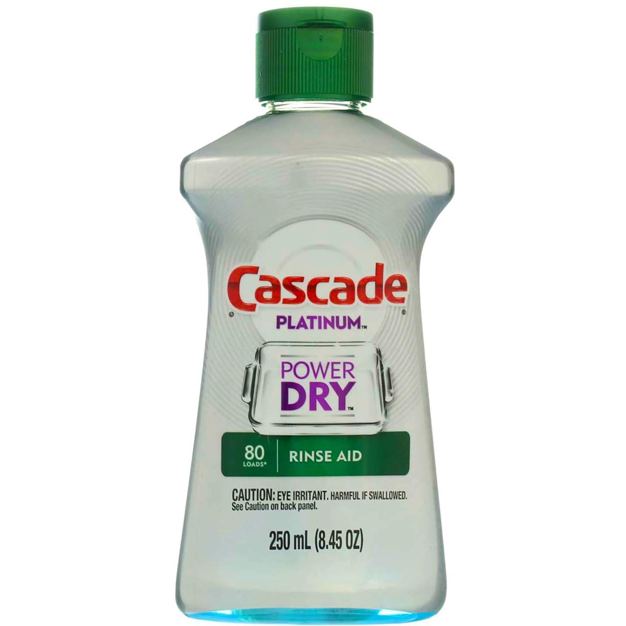Cascade Rinse Aid Platinum, Dishwasher Rinse Agent, Regular Scent, 8.45 Ounce, (Pack of 3)