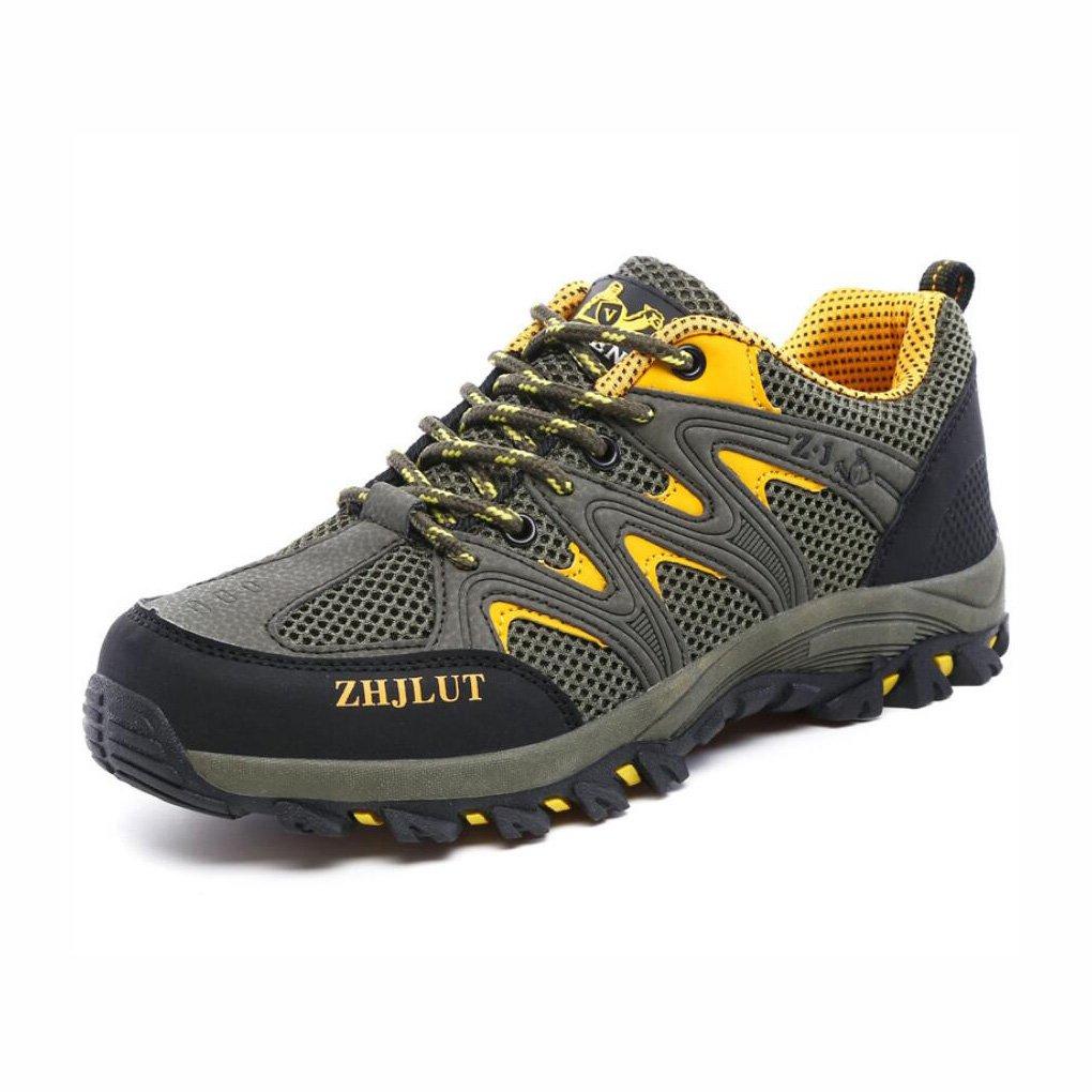 YaXuan Zapatos para Caminar para Hombres - Zapatos Ligeros, Calzado con Forro de Malla, Parachoques para el Talón y el pie - para Caminar, Caminar, Viajar Este Verano, Zapatos para Parejas 41|Segundo