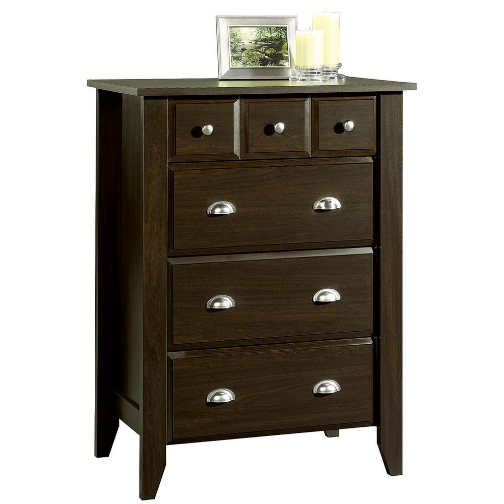 Child Craft Ready-to-Assemble 4-Drawer Chest, Jamocha Foundations F04702.07