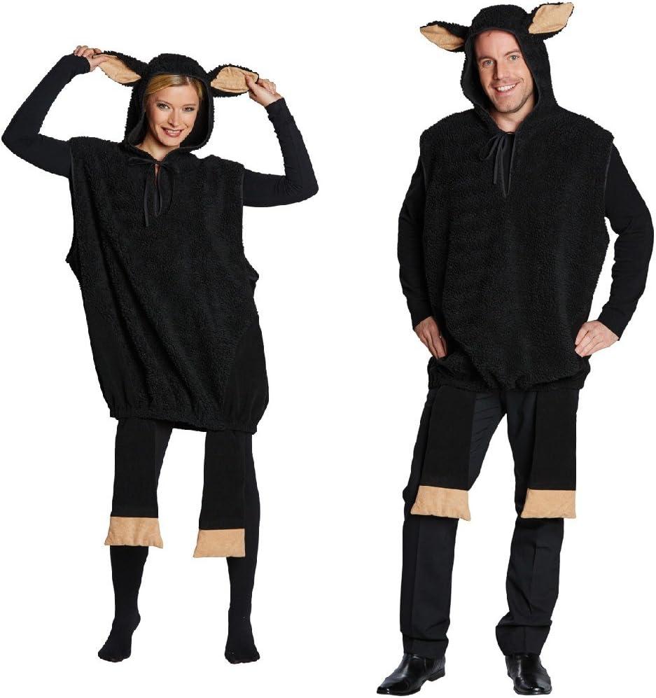 Disfraz de oveja negra traje de baño para hombre y mujer: Amazon ...