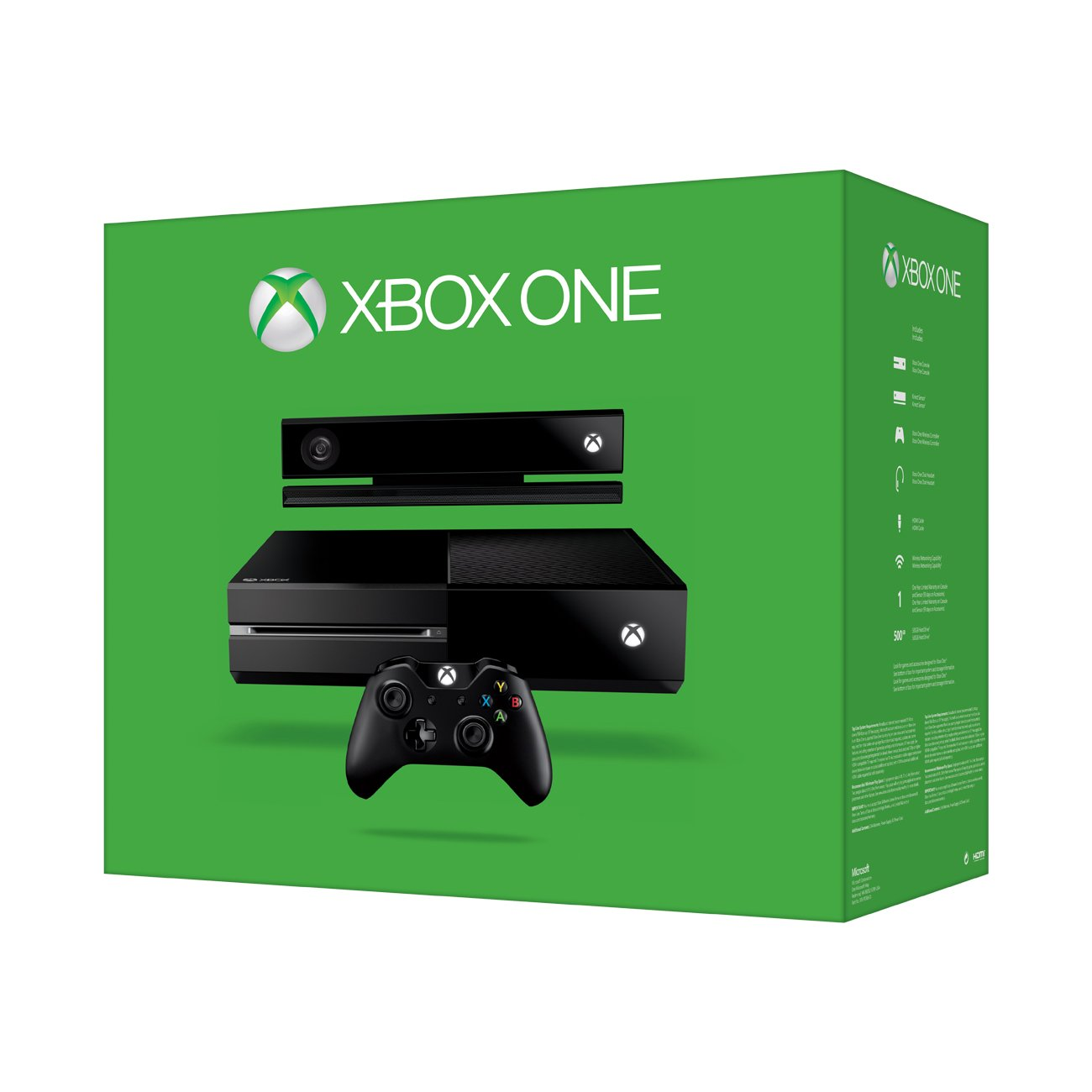 Microsoft Xbox One 500GB Wifi Negro - Videoconsolas (Xbox One, Negro, 8192 MB, DDR3, AMD Radeon, Unidad de disco duro): Amazon.es: Videojuegos