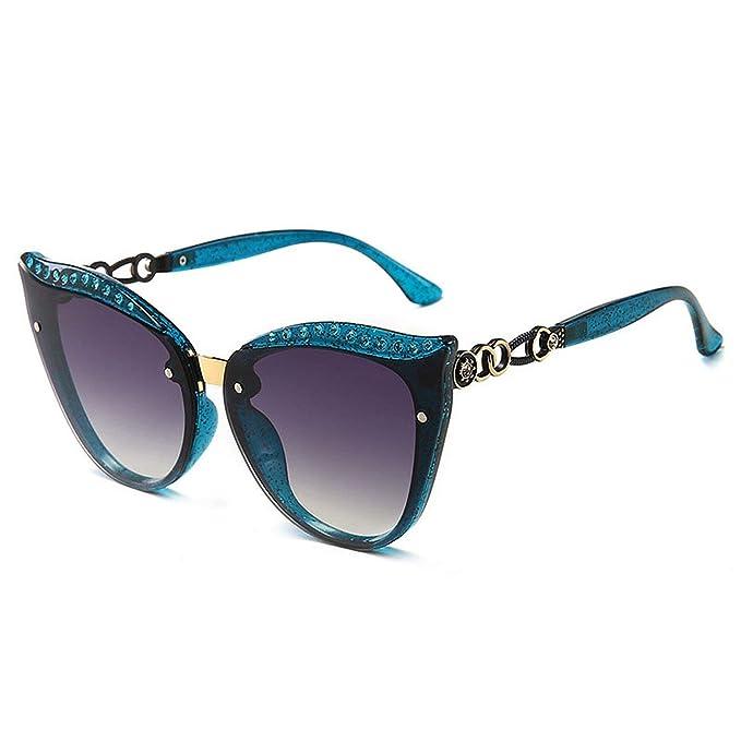FIRM-CASE Gafas de sol Moda Mujeres gran tamaño del marco ...