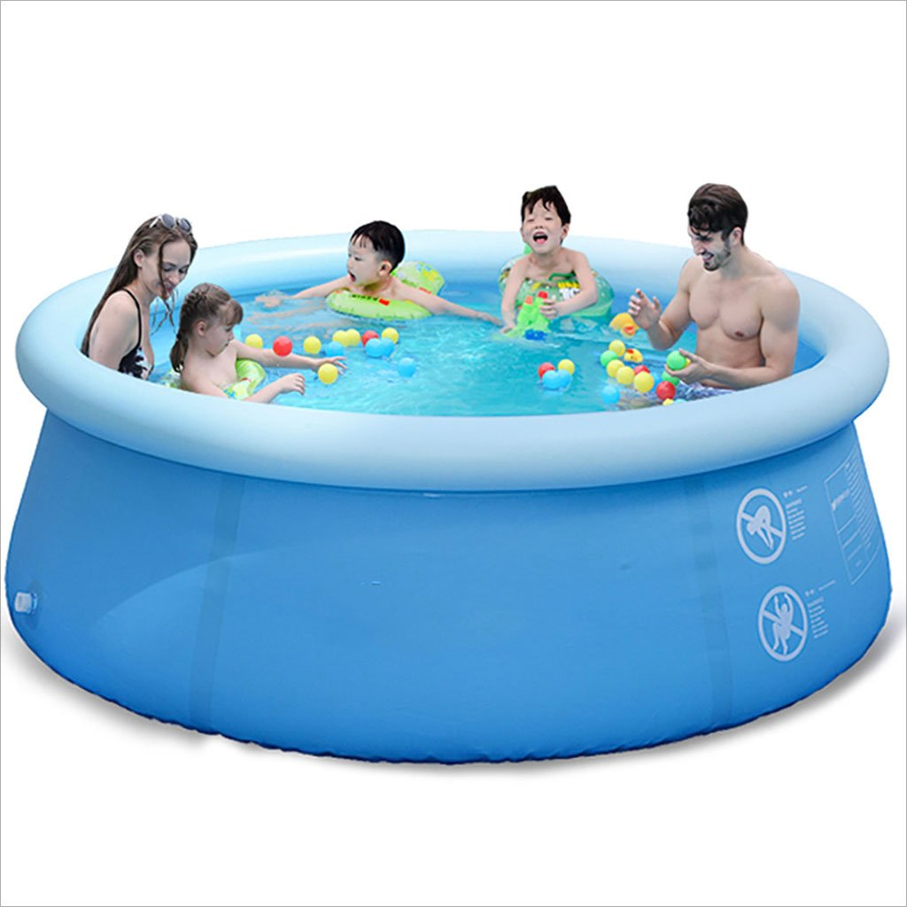 LQQGXL,Bath Large Family Children Adult Child Pool Inflatable larger family vegetable pool Inflatable bathtub ( Size : 56183cm )