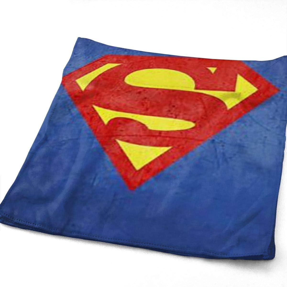 Kinder Strandtuch Superman Mikrofaser-Handtuch 70x140 cm Logo