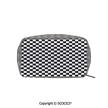 d3d471aada57 Rectangle Portable makeup organizer Cosmetic Bags ... - Amazon.com