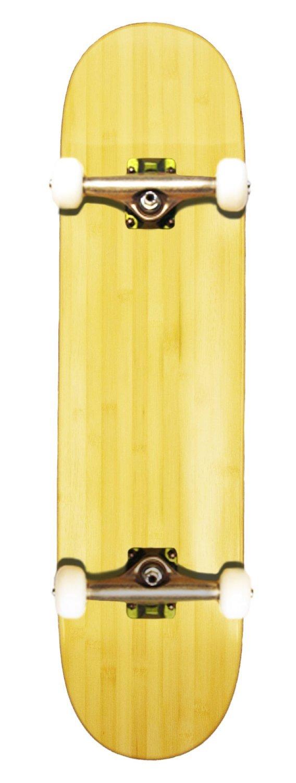 Bamboo Skateboards空白の完全スケートボード、7.5