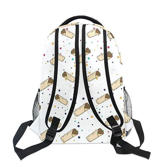 Amazon.com: Elegante mochila Burrito – Bolsas de viaje para ...