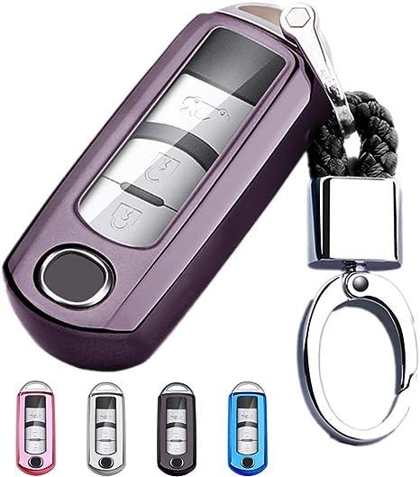Amazon.com: Mofei - Carcasa protectora para llave de Mazda ...