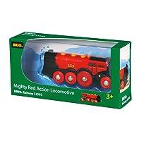 Brio 33592 - Grande Locomotiva a Batterie, Rossa