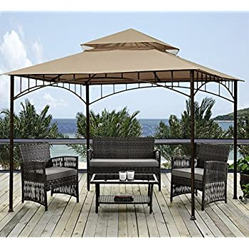 Sunjoy 10u0027 X 10u0027 Grove Patio Canopy Gazebo