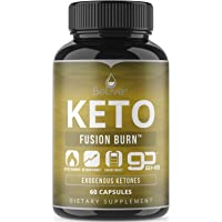 BeLive Keto Pills for Daytime | Patented 2000MG BHB Formula Diet Pill with Pure Beta-Hydroxybutyrate (goBHB) Exogenous Ketones & Avocado Powder, 60 Caps