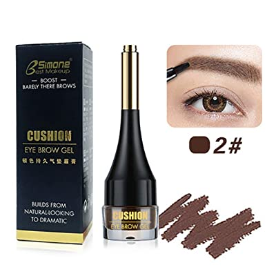 â¤JPJ(TM)❤️ Eyebrow Pen,Women Quick Dry Waterproof Stained Eyebrow Beautifully Emphasized Eyebrow Tint Paste Beauty Eyebrows Makeup Best Tool For Your Eyebrow (B)