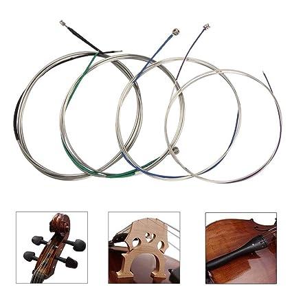 Amazon.com: Juego completo de cuerdas de celofán universales ...