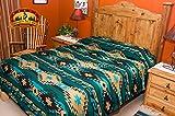 Southwestern Indian Style Bedspread - Navajo Pattern - KING SIZE