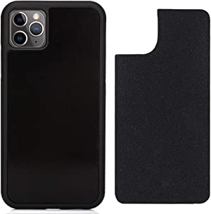 CloudValley Anti Gravity Case for iPhone 11 Pro (2019), Goat Case Magical Nano Can Stick to Glass, Whiteboards, Tile and Smooth Surfaces [Black]