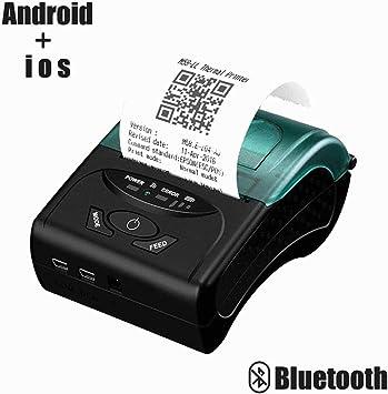 Impresora de recibos térmica Bluetooth de 58 mm para PC, Android ...