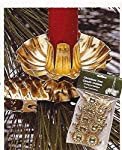 Clip On Candle Holders (Set of 10) Color: Gold