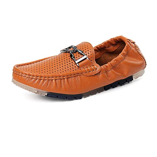 Xinke Mocasines para Hombres - Mocasines Informales Italianos Mocasines Slip-on para Hombres: Amazon.es: Zapatos y complementos