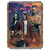 Marvel Guardians of the Galaxy, Space Crew Woven Tapestry Throw Blanket, 48'' x 60''