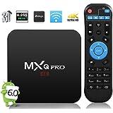 2017 Model Newest GooBang Doo MXQ Pro Android 6.0 TV Box 64 Bits Amlogic Marshmallow OS Smart Set Top TV Box 4K Player Box