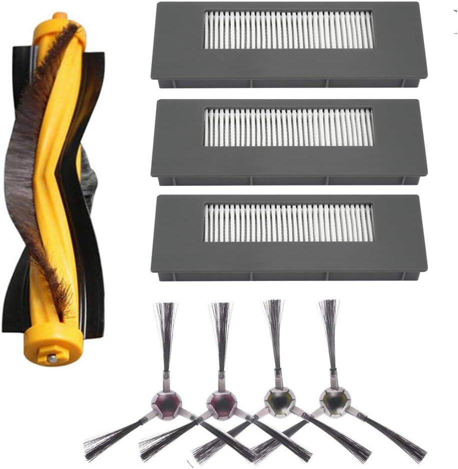 Kit de filtro y cepillo de repuesto para ECOVACS DEEBOT 900
