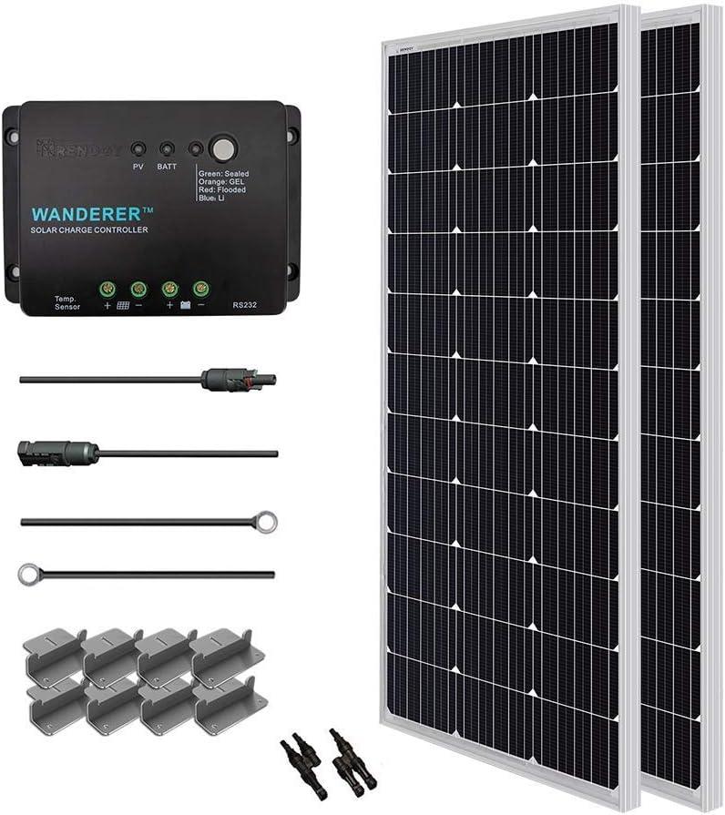 Renogy 200 Watt Solar starter Kit