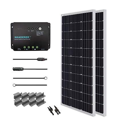 Diy Solar Panel System Wiring Diagram Panels Using Volt on