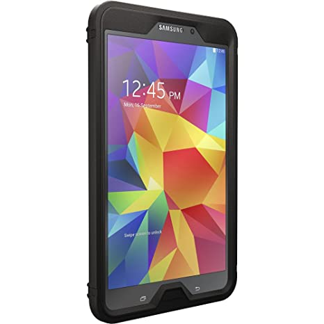 the best attitude 40fb5 9036f OtterBox DEFENDER SERIES Case for Samsung Galaxy TAB 4 8.0 ONLY - Retail  Packaging - BLACK