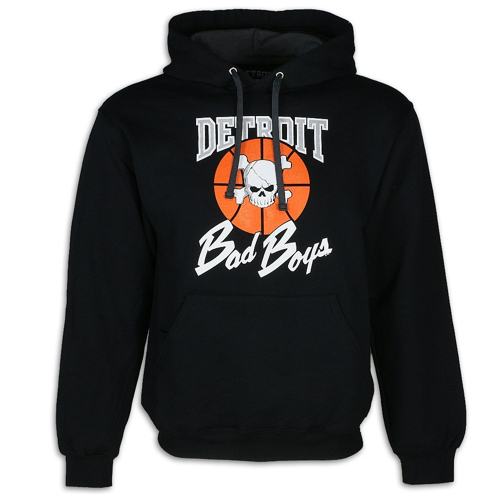 new styles 6b6fb d88b1 Detroit Pistons Bad Boys Apparel- Historic Men's Hooded Sweatshirt