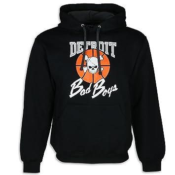 new styles c25b9 240e4 Detroit Pistons Bad Boys Apparel- Historic Men's Hooded Sweatshirt