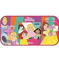 Lexibook JL2367DP Disney Princess Askungen Ariel Rapunzel kompakt cyber arkad bärbar spelkonsol, 150 spel, LCD-skärm…