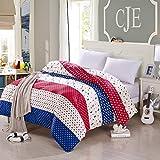 College quilt/one piece cotton quilt/cotton quilt cover-F 160x210cm(63x83inch)